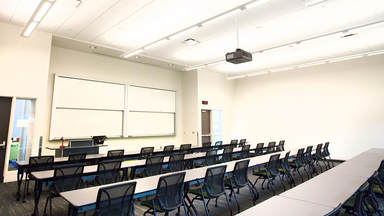 Homeland Security Training Center Classroom