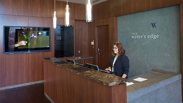 Inn at Water's Edge front desk photo