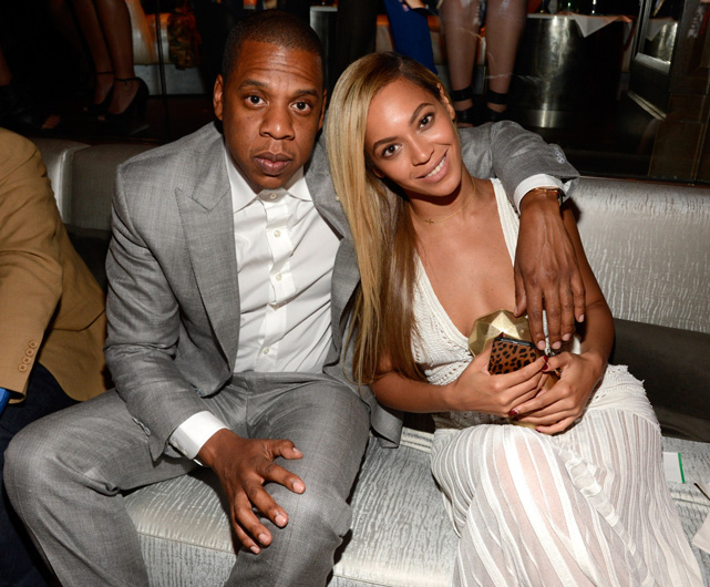 Jay-Z and Beyonce attend The 40/40 Club 10 Year Anniversary Party at 40 / 40 Club on June 17, 2013 in New York City. (Photo by Kevin Mazur/WireImage/Creative Commons)