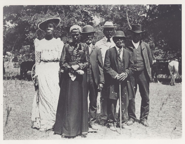 Juneteenth Emancipation Day Celebration, June 19, 1900, Texas (Public Domain)